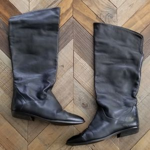 Vintage Bandolino Leather Knee High Boots Sz 7.5